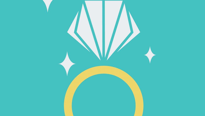 אילו טבעות מתאימות ליום החתונה פרט לטבעת האירוסין?